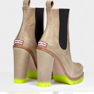 HUNTER High Heel Chelsea Boot